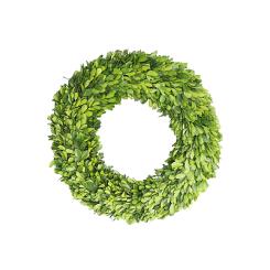 Fresh Preserved Boxwood Wreath