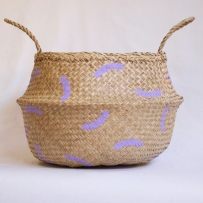 Wiggles Lilac Basket