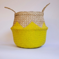 ZigZag Yellow Basket