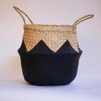 ZigZag Black Basket