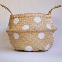 Spots White Basket