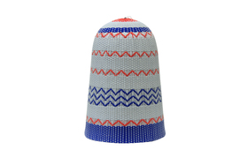 Zulu Light Shade Blue & Red Large