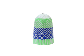Zulu Light Shade Blue & Green Small