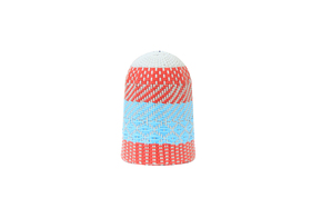 Zulu Light Shade Blue & Red Small